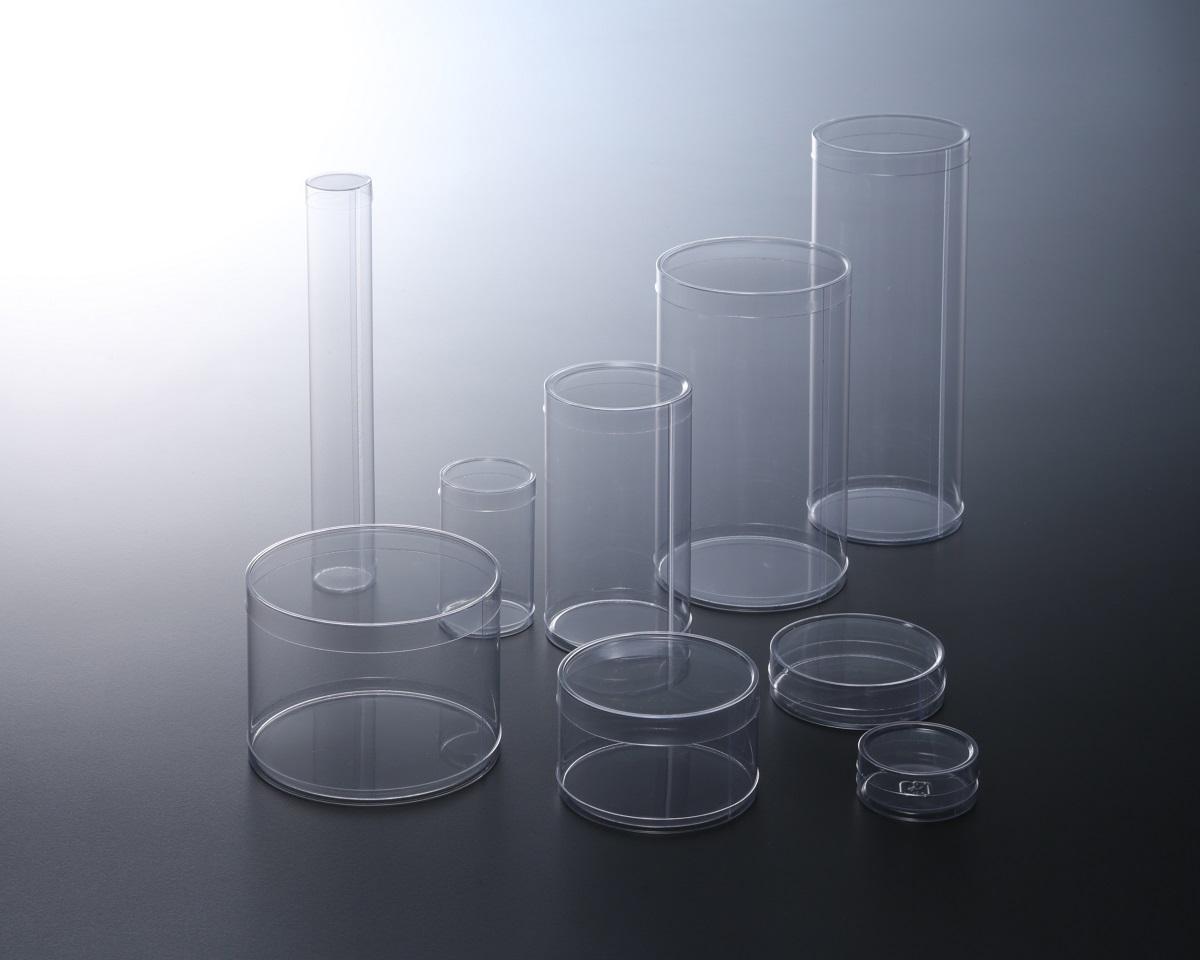 様々なサイズの円筒ケース