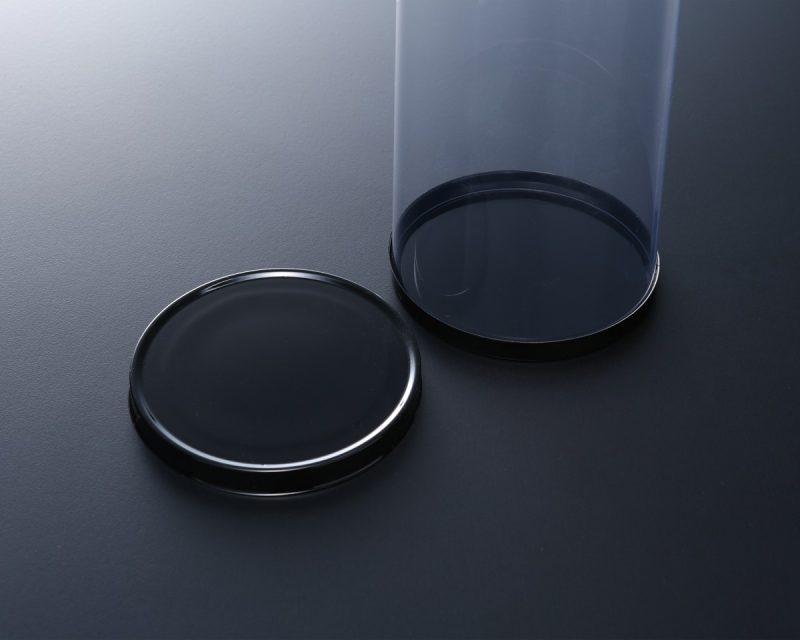 円筒ケース(蓋と底は黒カバーを使用)