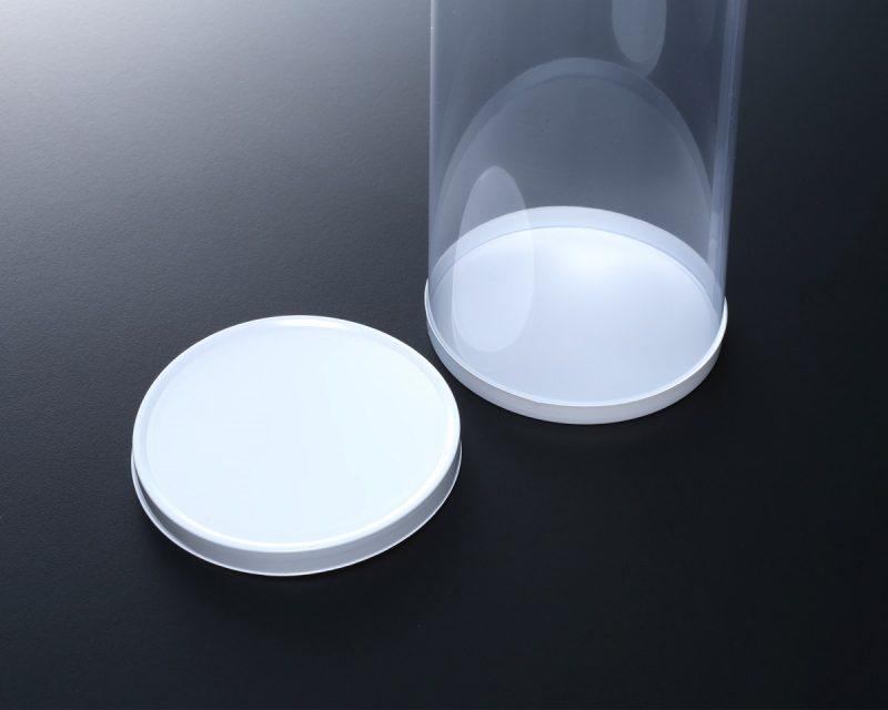 円筒ケース(蓋と底は白カバーを使用)
