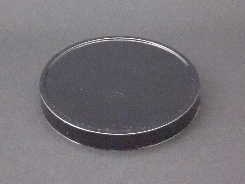 プラスチックカバー(PVC黒蓋)