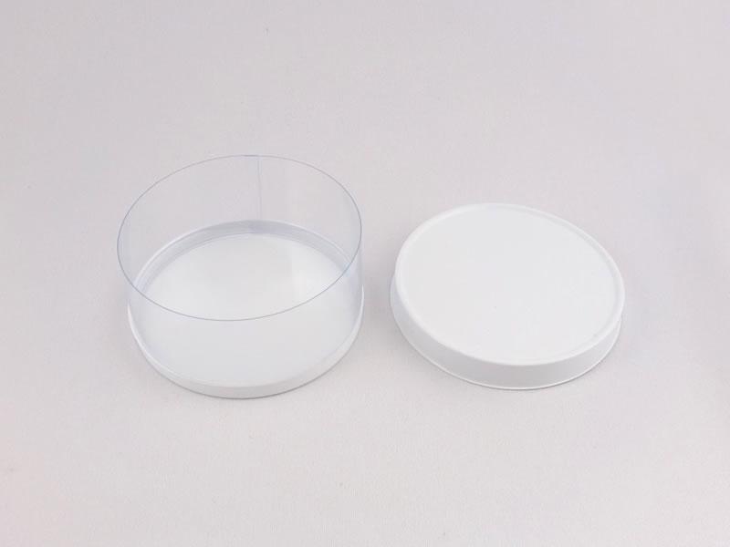 円筒ケース(白蓋/白底)