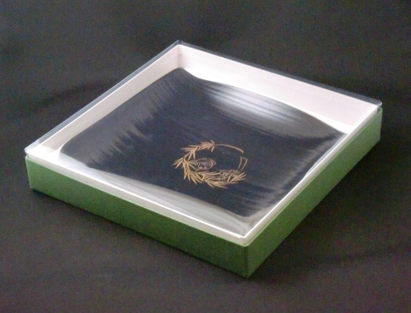 展示会用の皿カバー