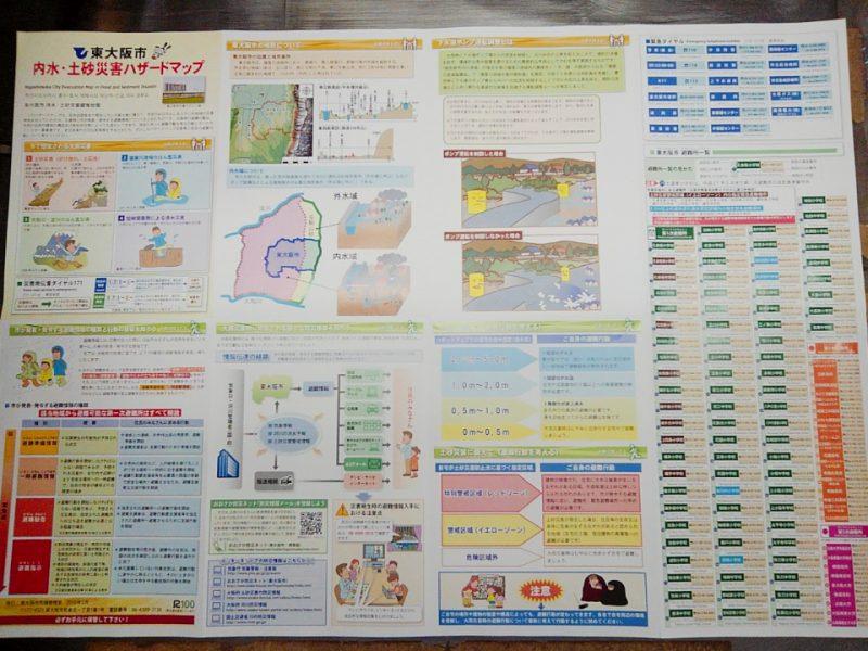 土砂ハザードマップ(表)