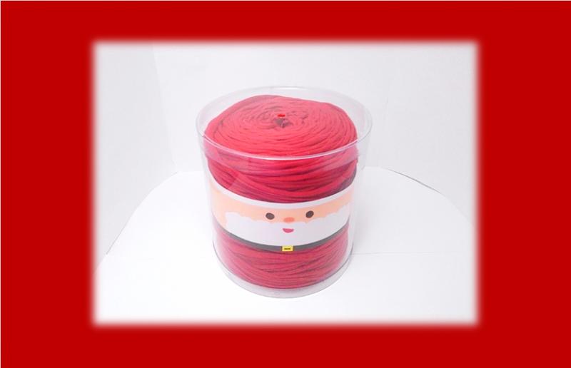 毛糸のクリアケース(クリスマスver)②