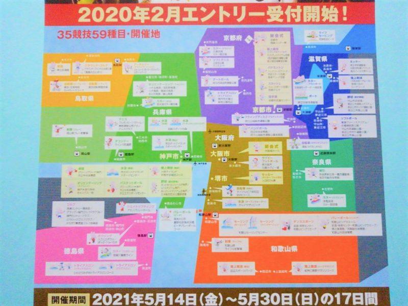ワールドマスターズゲームズ2021関西の開催地