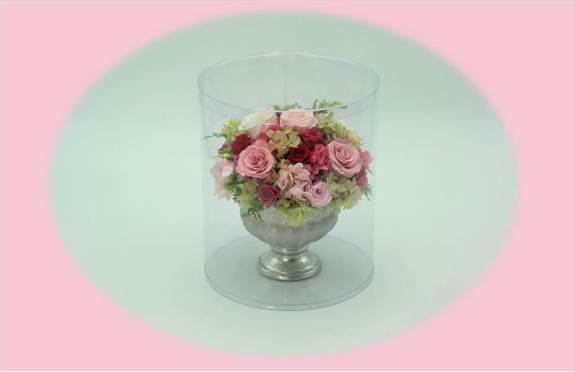 花束のパッケージ