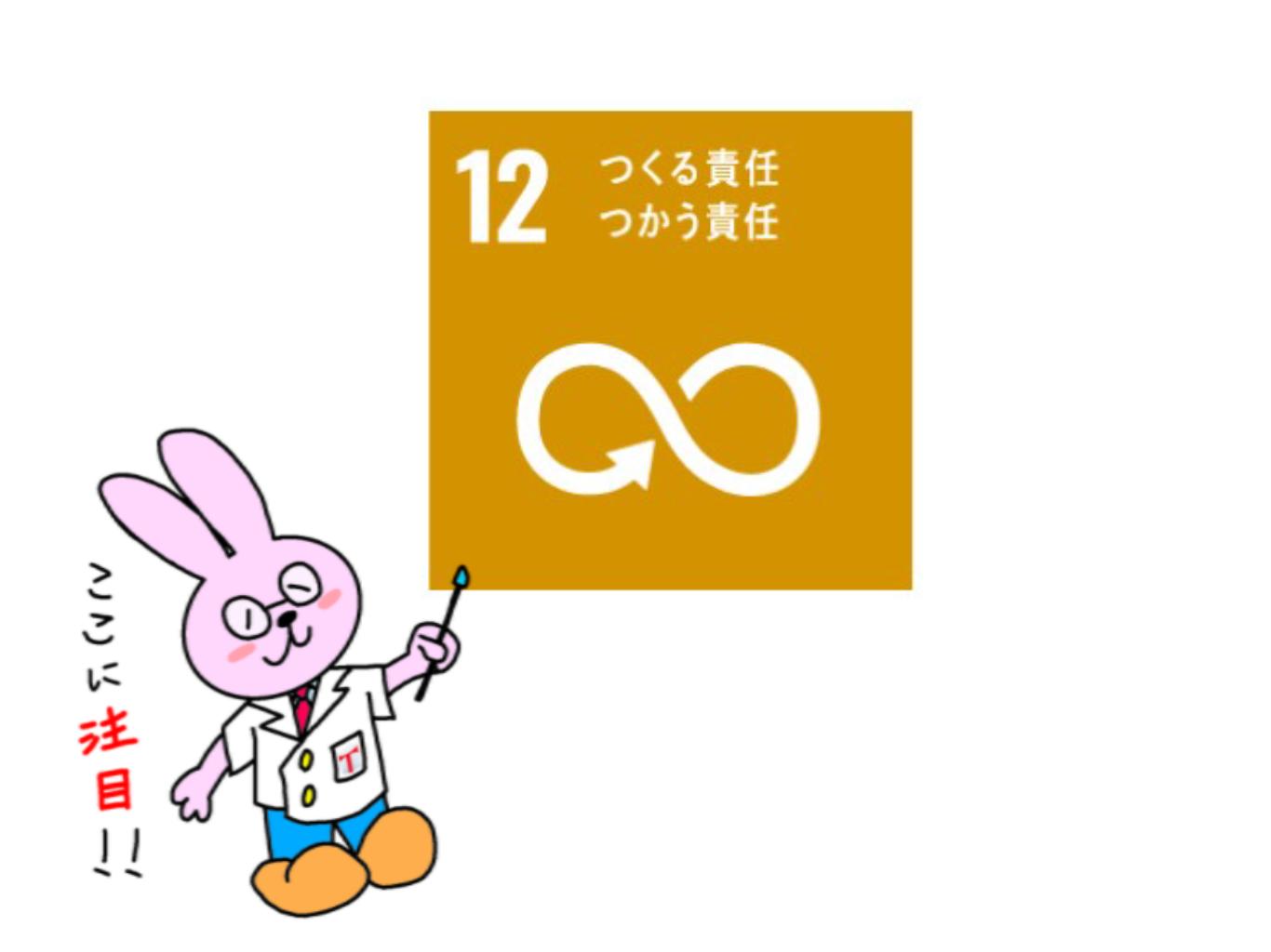 SDGs(つくる責任 つかう責任)